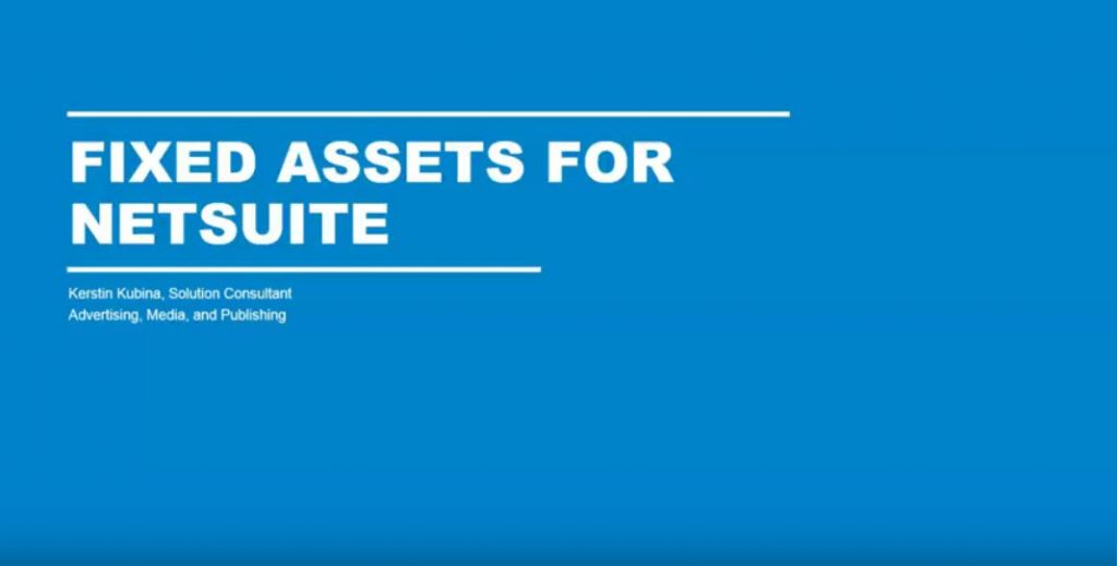 netsuite-fixed-assets