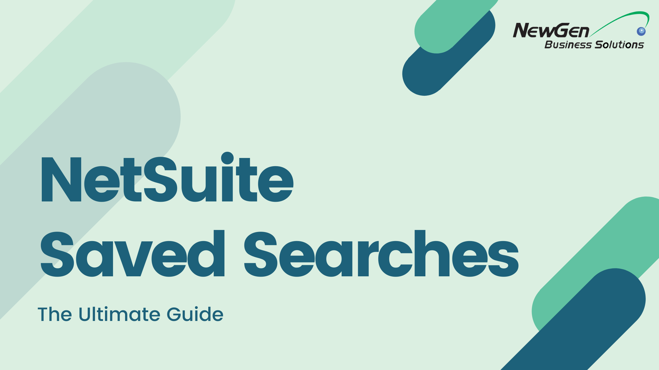 NetSuite Saved Search guide