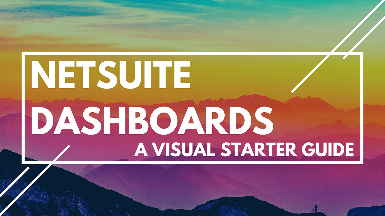 NetSuite Dashboards