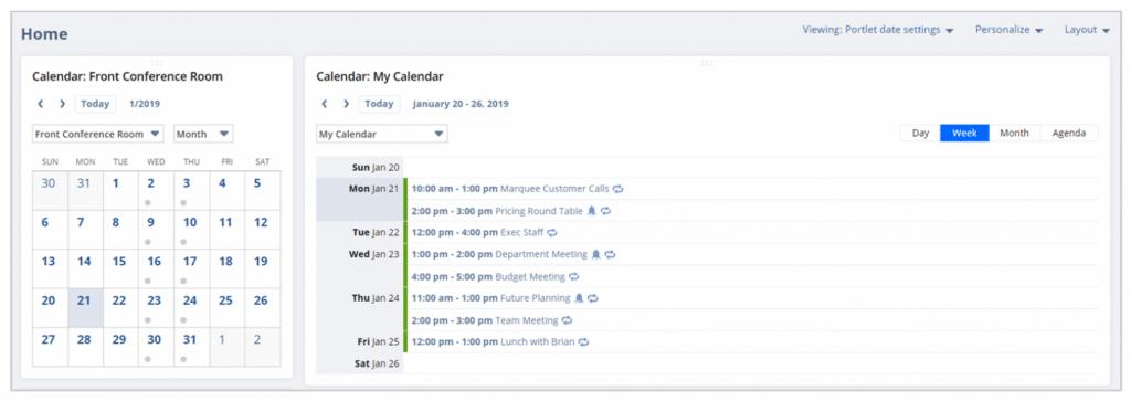 NetSuite Calendar