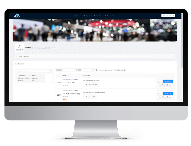 CS EH Customer Portal